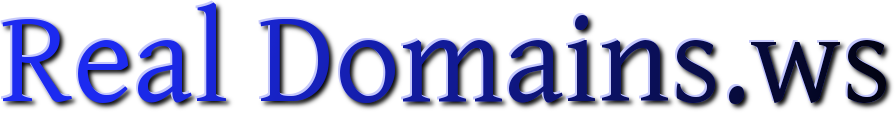 Real Domains.ws Logo